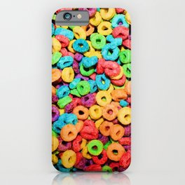 Fruit Loops Cereal iPhone Case
