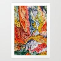 Segments 2 Art Print