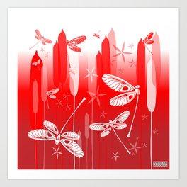 CN DRAGONFLY 1013 Art Print