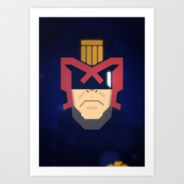 Dredd / Judge Dredd Art Print