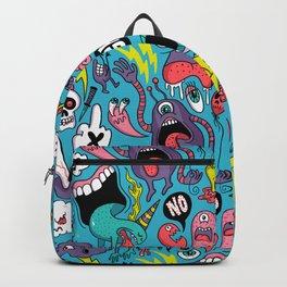 Doodled Pattern Backpack