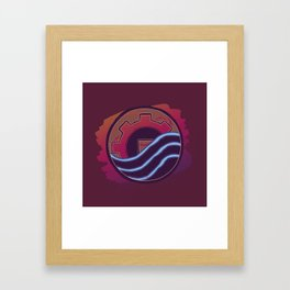 Sounds Perfect Framed Art Print