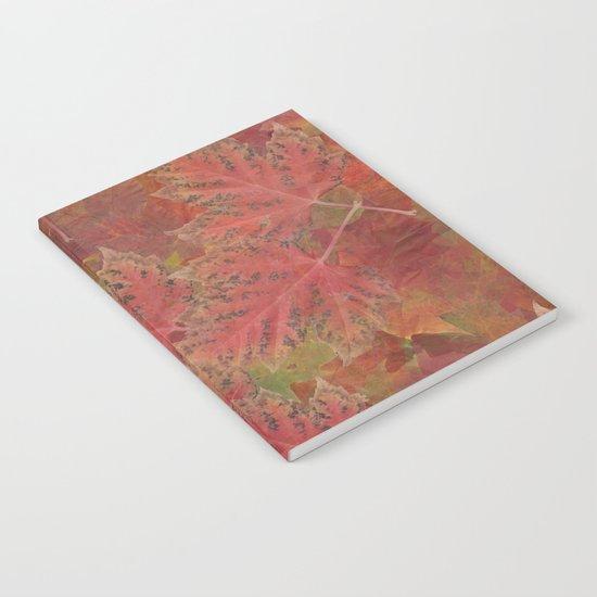 Autumn Reds Notebook