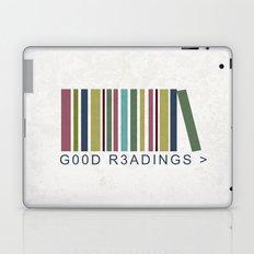 Good Readings are priceless Laptop & iPad Skin