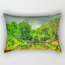 Deep In The Valley Rectangular Pillow