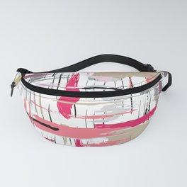 Pink Brushstroke Fanny Pack