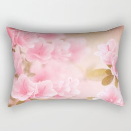 Thinking Springtime Rectangular Pillow