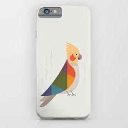 Cockatiel iPhone Case