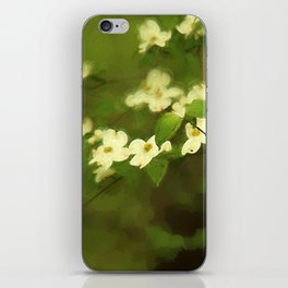 Oil Painting Dogwoods iPhone Skin