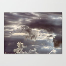 Twisted Cloud Canvas Print