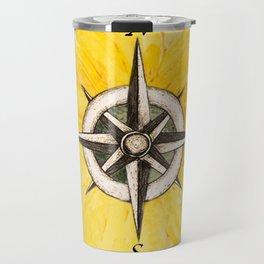 Compass  Sunflower Travel Mug