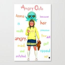 Angryocto - Anna's Precious Canvas Print