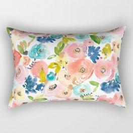 Floral POP #1 Rectangular Pillow