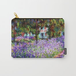 """Claude Monet """"Irises in Monet's Garden at Giverny"""", 1900 Carry-All Pouch"""