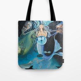 Pisces- The Zodiac Wildlife Series Tote Bag