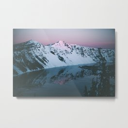 Crater Lake Metal Print