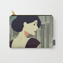 Girl Retro Style 12 Carry-All Pouch