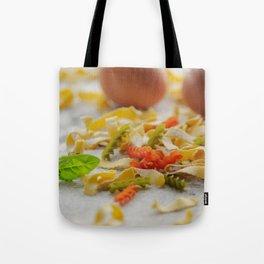 Coloful Pasta Creation Tote Bag