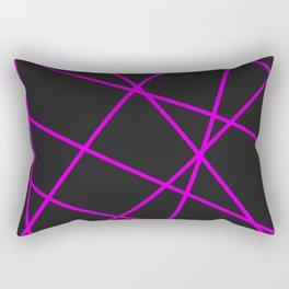 Abstract Minimalist Geometrical Pattern Rectangular Pillow