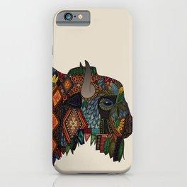 bison bone beige iPhone Case