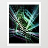 explosions of creativity2 Art Print