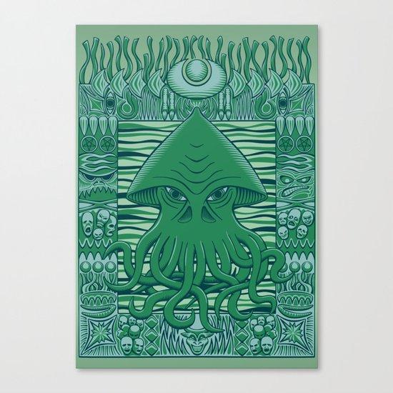 Dreamer in the Deep Canvas Print