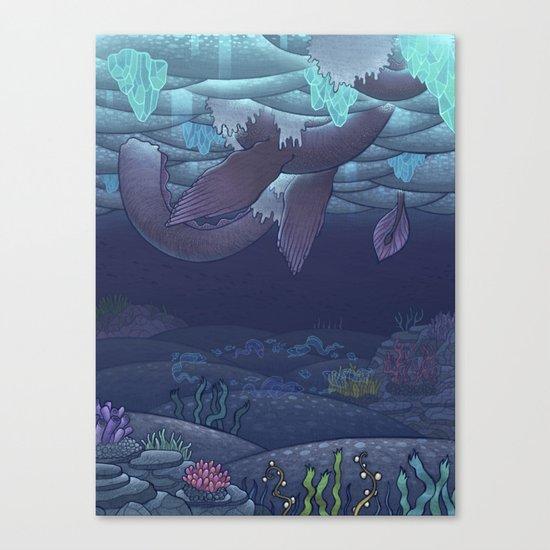 Nessy Canvas Print