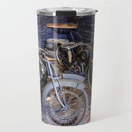 1920s Motorcycles Travel Mug