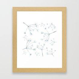 Hedgerow Seeds Framed Art Print