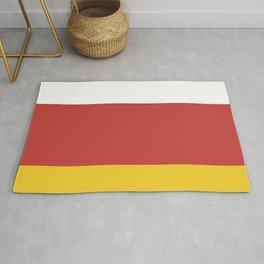 flag of North Ossetia Or Alania Rug