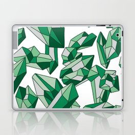 Falling crystals #2 Laptop & iPad Skin