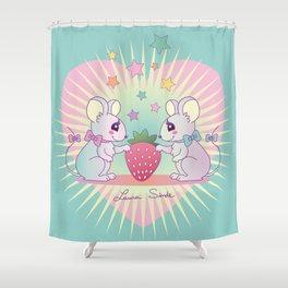 cute mice Shower Curtain