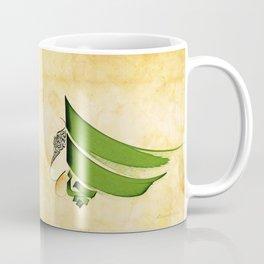 Arabic Calligraphy - Rumi - Strange Pull Coffee Mug
