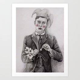 Pierrot  Art Print