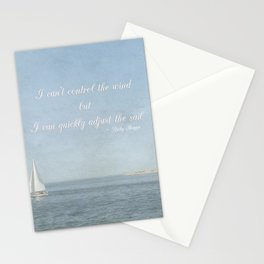 Adjust your sail Stationery Cards