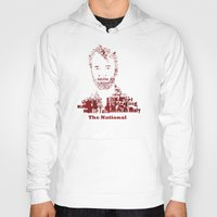 the national Hoodies featuring The National by Luke Eckstein