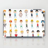 games iPad Cases featuring Boy's games by Anna Ivanir