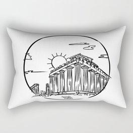 Parthenon, Greece Rectangular Pillow