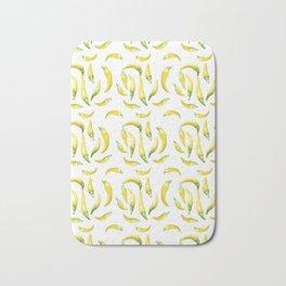 Chilli Pepers Pattern Motif Bath Mat