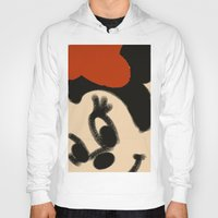 minnie mouse Hoodies featuring Doodling Minnie Mouse by SH.drawings