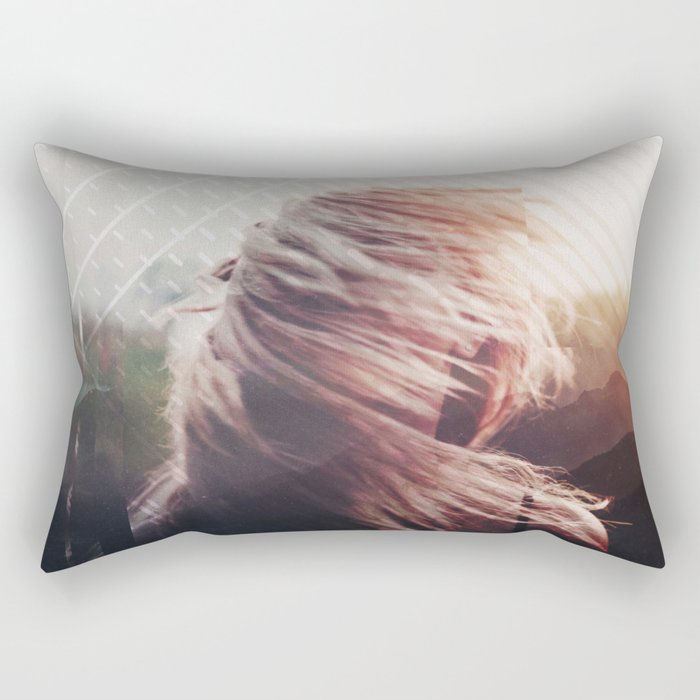 Fractions 21 Rectangular Pillow