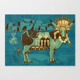 Cowchina Canvas Print