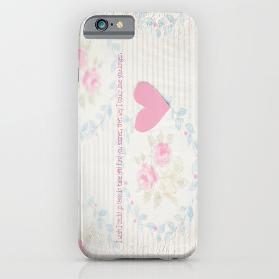 Go Back In Time Valentines  iPhone & iPod Case