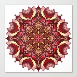 The Red Star Canvas Print