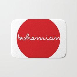 Bohemian - Red Dots Bath Mat