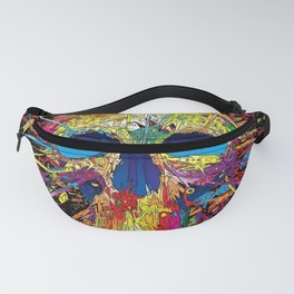 AMAZING---STREET-ART II Fanny Pack