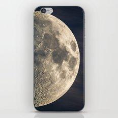 half moon iPhone Skin