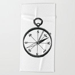 Ancient Compass Beach Towel