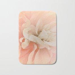 Dahlia, Soft Pink Glow Bath Mat