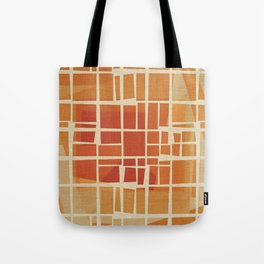 Fragmented Sun Tote Bag